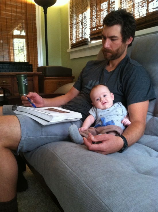 oct-2015-working-on-the-first-draft-copy-of-the-guidebook-with-3-month-old-son-finn