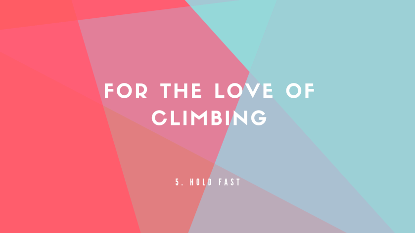 For the love of climbing header