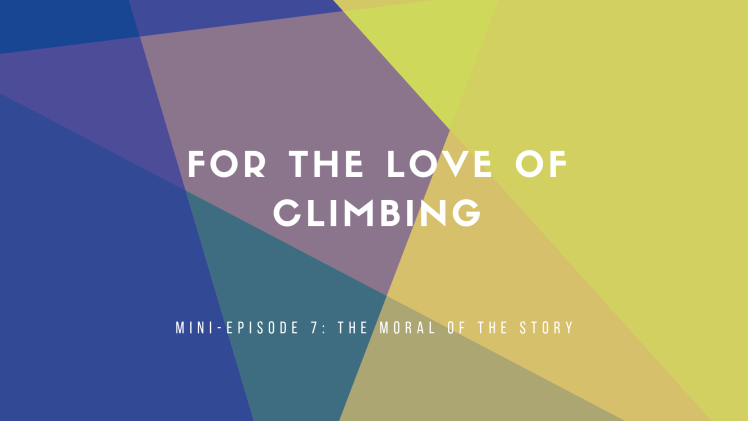 Copy of For the love of climbing header